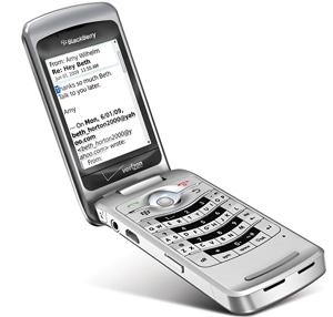 BlackBerry Pearl Flip, courtesy of CrackBerry.com