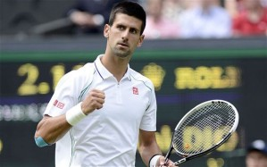 Djokovic, from Telegraph UK